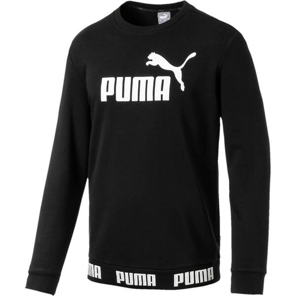 PUMA Herren Sweatshirt Amplified Crew TR