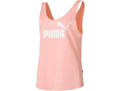 PUMA Damen T-Shirt ESS Logo Tank Pink