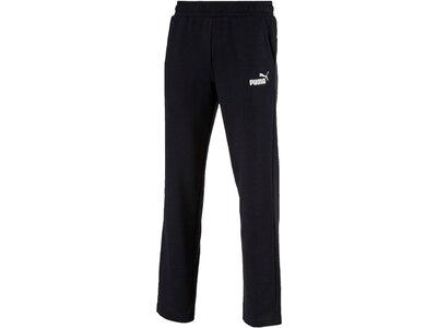 PUMA Lifestyle - Textilien - Hosen lang Essential Logo Pant Jogginghose Damen Schwarz
