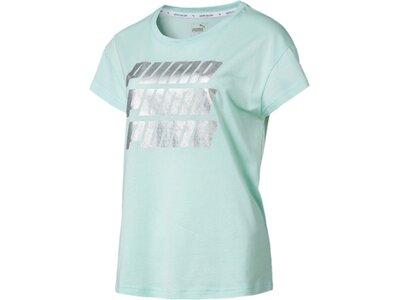 PUMA Damen T-Shirt Modern Sports Graphic Tee Grau