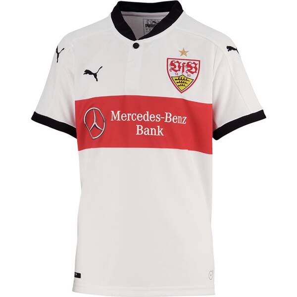 Puma Unisex Fußballtrikot VfB Kids Home Repl.Shirt w.Spo