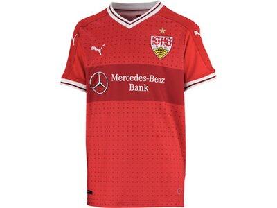 Puma Kinder Fußballtrikot VfB Kids Away Replica Rot