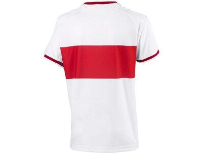PUMA Kinder Trikot VfB Stuttgart Home Replica Shirt Jr w.Sponsor Rot