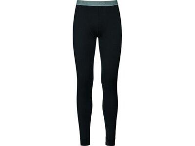 ODLO Herren Funktionsunterhose Pants Natural 100% Merino Warm Schwarz