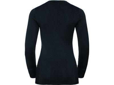 ODLO Damen Shirt l/s crew neck NATURAL 10 Schwarz