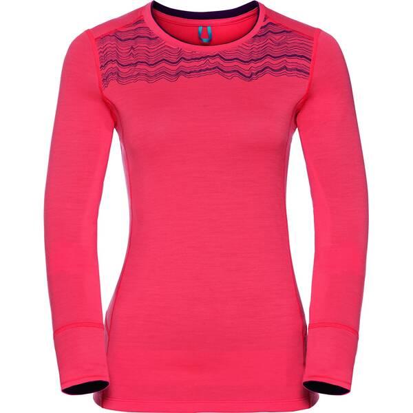 ODLO Damen Shirt l/s crew neck NATURAL 10