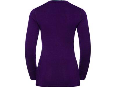 ODLO Damen Shirt l/s crew neck NATURAL 10 Lila