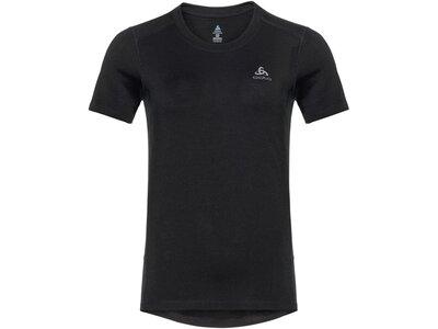 ODLO Damen T-Shirt BL TOP crew neck s/s MERINO 200 Schwarz