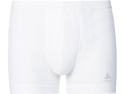 ODLO Herren Funktionsunterhose Boxer Cubic Weiß