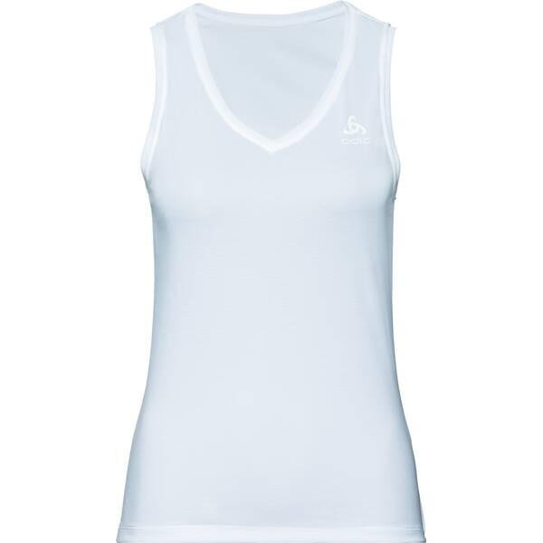 ODLO Damen Funktionsunterhemd SUW TOP V-neck Singlet ACTIVE F-DRY LIGH