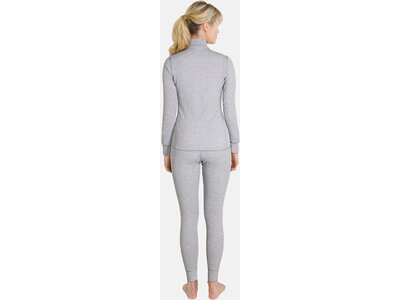 ODLO Damen Unterhemd Shirt l/s turtle neck 1/2 zip Pink