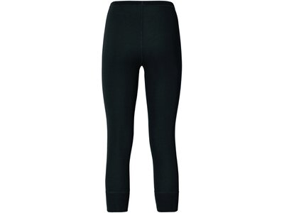 ODLO Damen Pants 3/4 WARM Schwarz