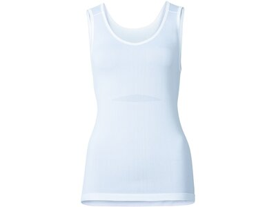 ODLO Damen Unterhemd Singlet v-neck EVOLUTION X-LIG Weiß