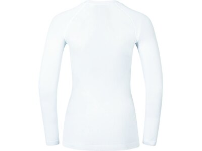 "ODLO Damen Funktionsunterhemd ""Evolution Warm Baselayer Shirt"" Langarm Weiß"