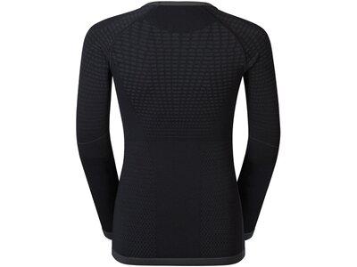 ODLO Kinder Unterhemd Shirt l/s crew neck EVOLUTION Schwarz