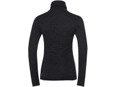 ODLO Damen Unterhemd BL TOP Turtle neck l/s ACTIVE Schwarz