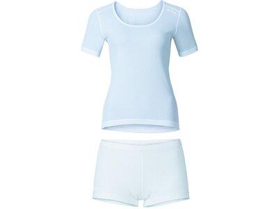 ODLO Damen Unterwäschenset Set CUBIC Weiß