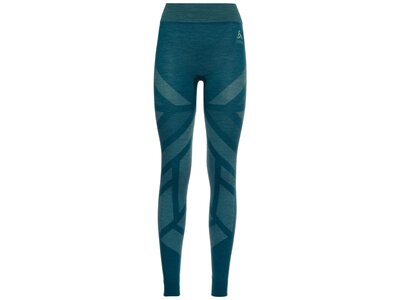 ODLO Damen Unterhose BL Bottom long NATURAL + KINSH Blau