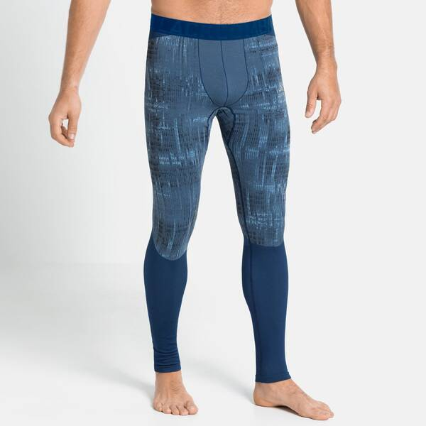 ODLO Herren Unterhose BL Bottom long BLACKCOMB