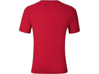 ODLO Herren Shirt T-shirt s/s crew neck GEORGE Rot