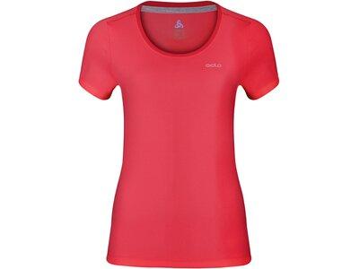 ODLO Damen T-shirt s/s crew neck MAREN Rot
