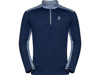"ODLO Herren Funktionsrolli ""Midlayer 1/2 Zip Steeze"" Blau"