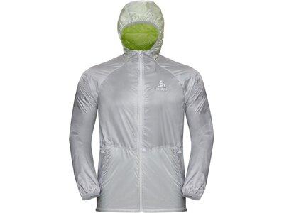 ODLO Herren Jacke Jacket Zeroweight PRO Silber