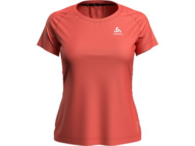 ODLO Damen T-Shirt CERAMICOOL ELEMENT Rot