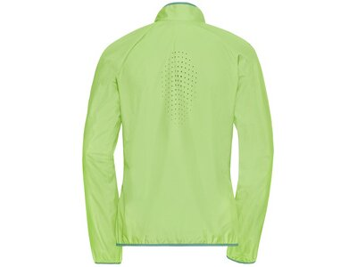 ODLO Damen Jacket ELEMENT LIGHT Grün