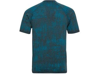 ODLO Herren T-shirt s/s crew neck BLACKCOM Blau