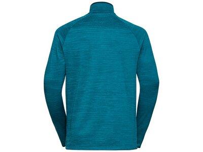ODLO Herren Midlayer 1/2 zip MILLENNIUM EL Blau