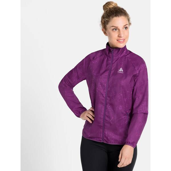 ODLO Damen Jacket ELEMENT LIGHT PRINT