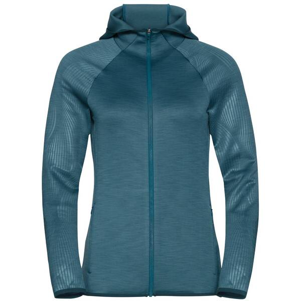 ODLO Damen Kapuzensweat Midlayer full zip LOU