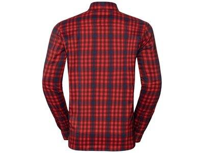 ODLO Herren Hemd Shirt l/s FAIRVIEW Schwarz