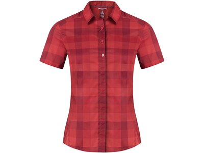 ODLO Damen Blouse s/s FAIRVIEW Rot