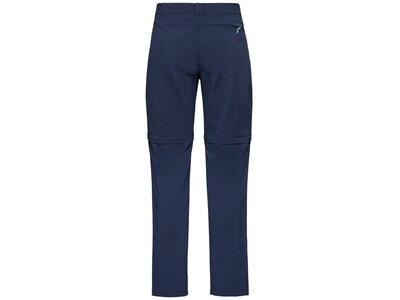 ODLO Herren Zip-Off Hose zip-off WEDGEMOUNT Blau