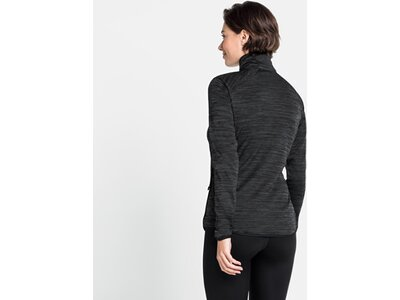 ODLO Damen Midlayer Sweatshirt full zip EAM Weiß