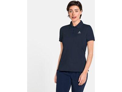 ODLO Damen Poloshirt NEW TRIM Blau