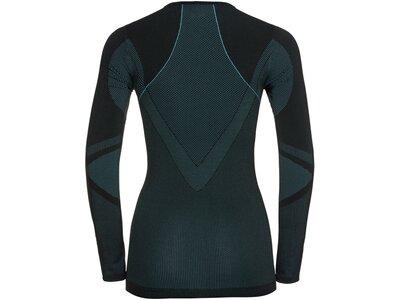 ODLO Damen Unterhemd Shirt l/s crew neck PERFORMANC Schwarz