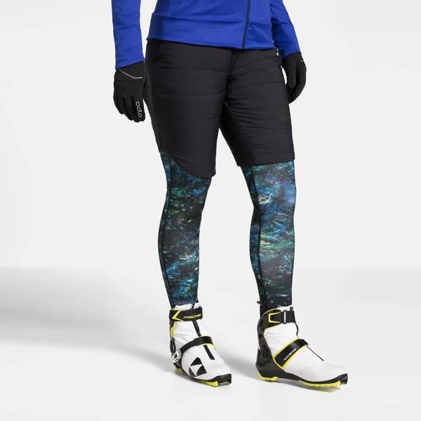 Hosen - ODLO Damen Shorts MILLENNIUM S Thermic › Schwarz  - Onlineshop Intersport