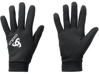 ODLO Herren Handschuhe Gloves STRETCHFLEECE LINER Schwarz