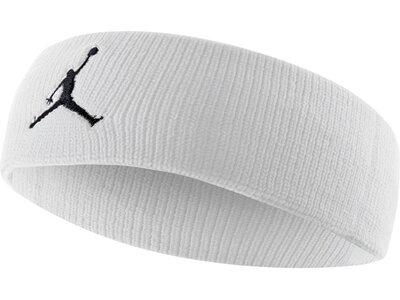 NIKE Stirnband Jordan Jumpman Weiß