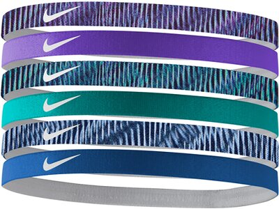 NIKE Haarband Printed Assorted 6PK Weiß