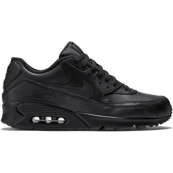 NIKE Herren Laufschuhe AIR MAX 90 LEATHER