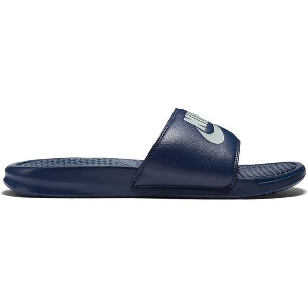 NIKE Herren Sandalen Benassi Just Do It Grau