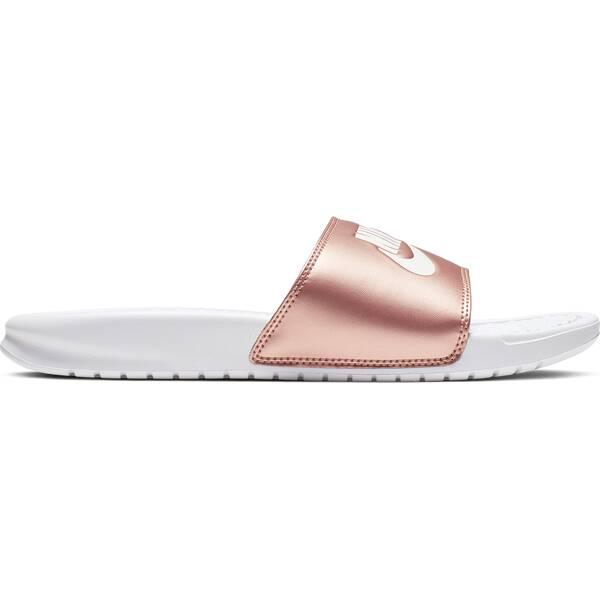 NIKE Damen Badeschuhe Benassi | Schuhe > Badeschuhe | White - Red | Nike