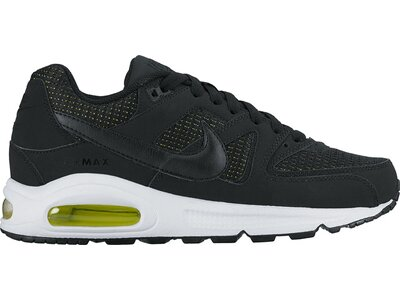NIKE Damen Sneakers Air Max Command Schwarz