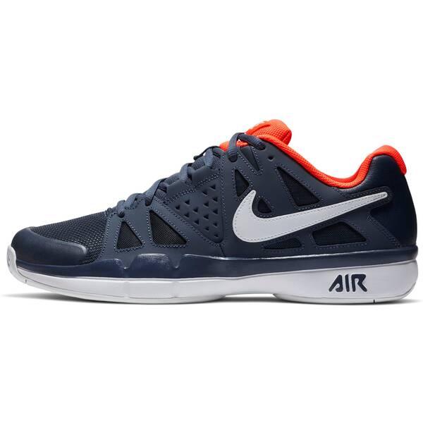 NIKE Herren Tennisschuhe Air Vapor Advantage Outdoor | Schuhe > Sportschuhe > Tennisschuhe | Weiß - Schwarz - Orange | Nike