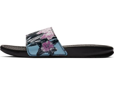 NIKE Damen Sandals WMNS BENASSI JDI PRINT Schwarz