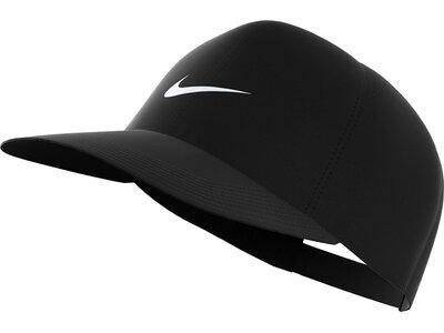 NIKE Tenniskappe U NK DRY AROBILL FTHRLT CAP Schwarz